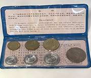 中国人民銀行 1980年 貨幣セット