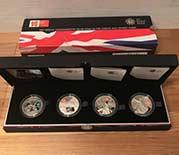 2012年 ロンドンオリンピック 競技大会 公式記念コインセット