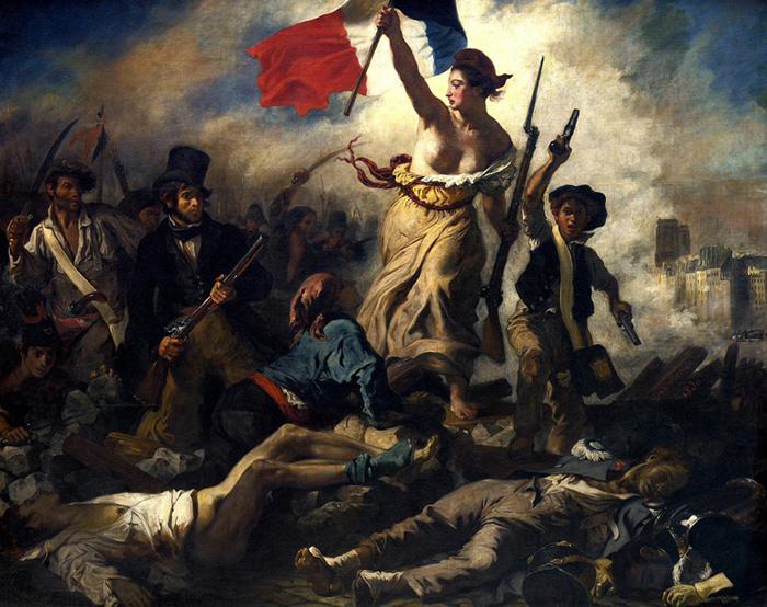 7月革命絵画