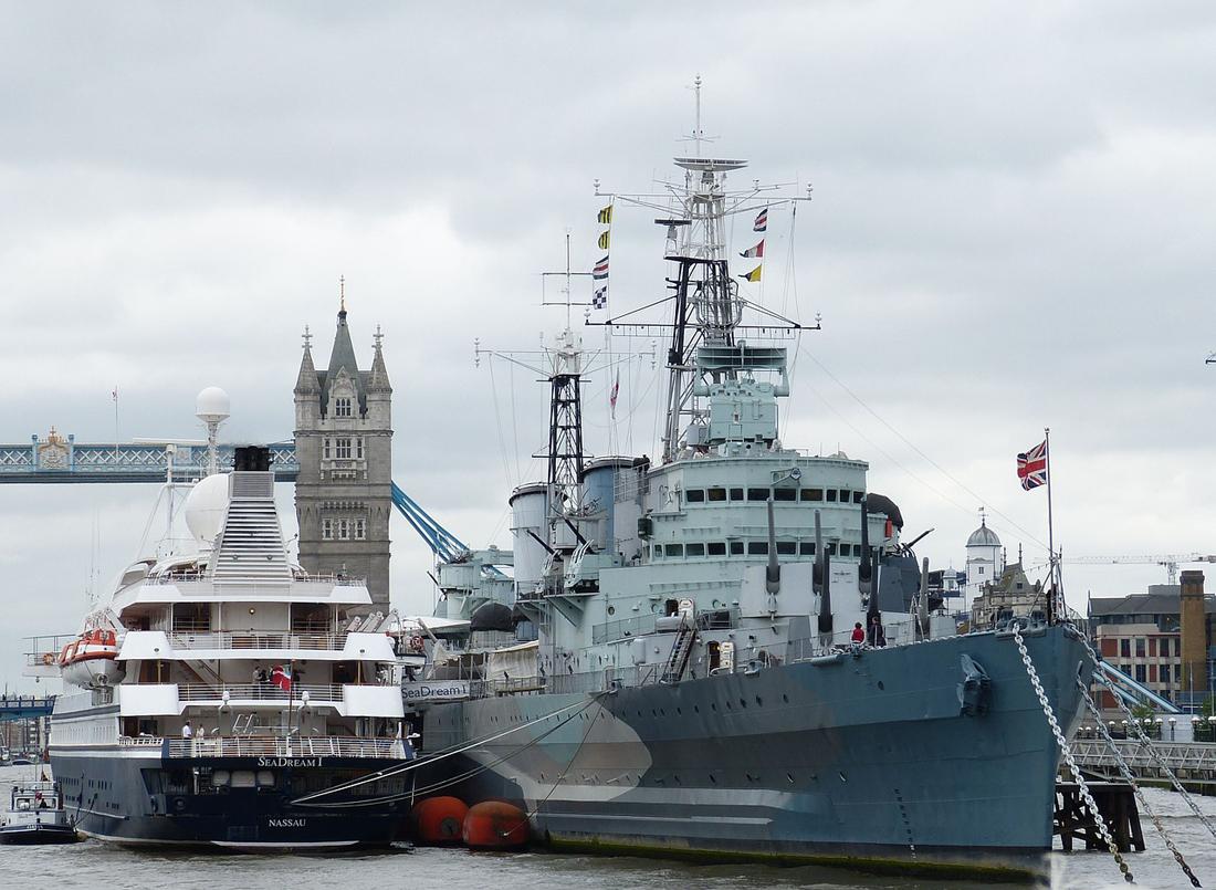 イギリス戦艦イメージ