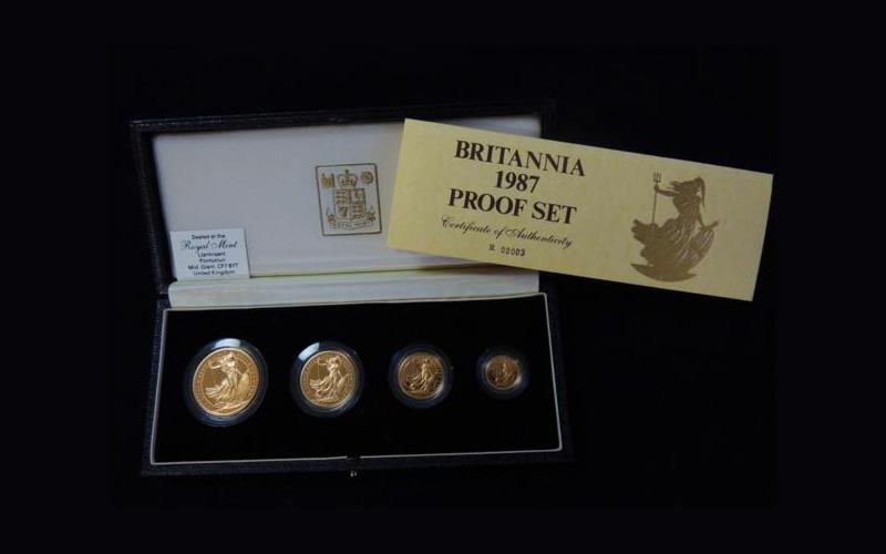 ブリタニア金貨プルーフセット