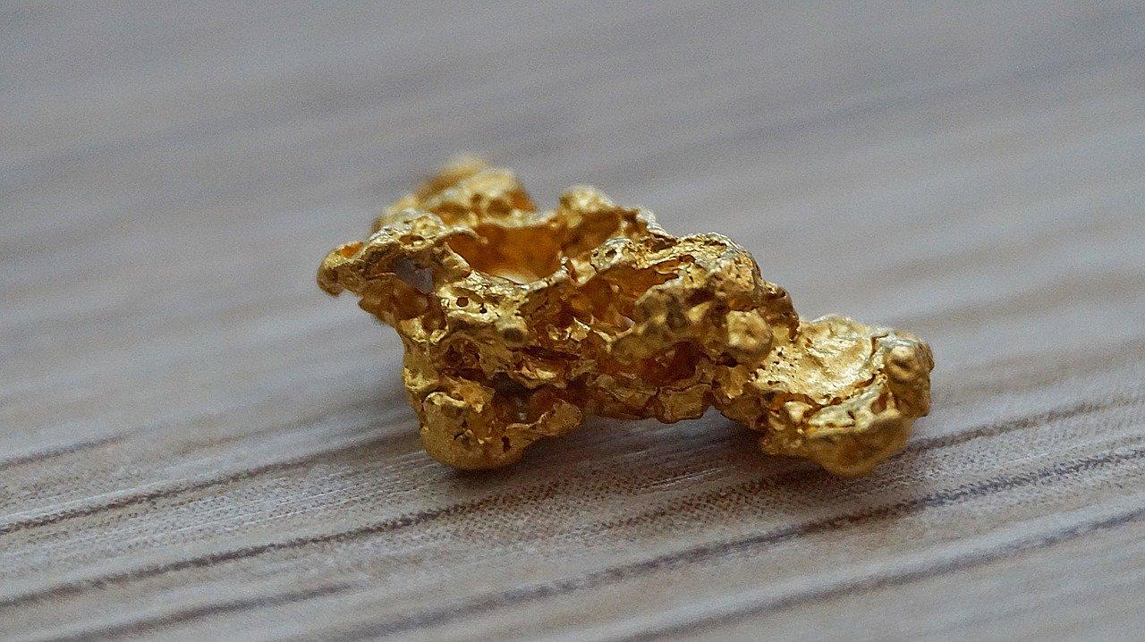 ナゲット金塊