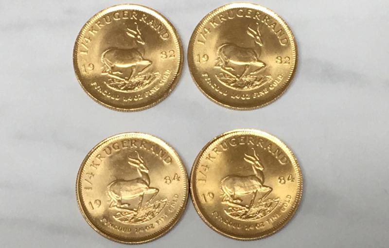 クルーガーランド金貨1/4オンス画像